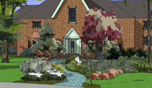 home landscape design