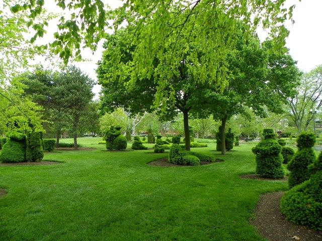 jardim topiary