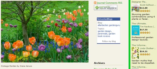 allan becker gardening blogger