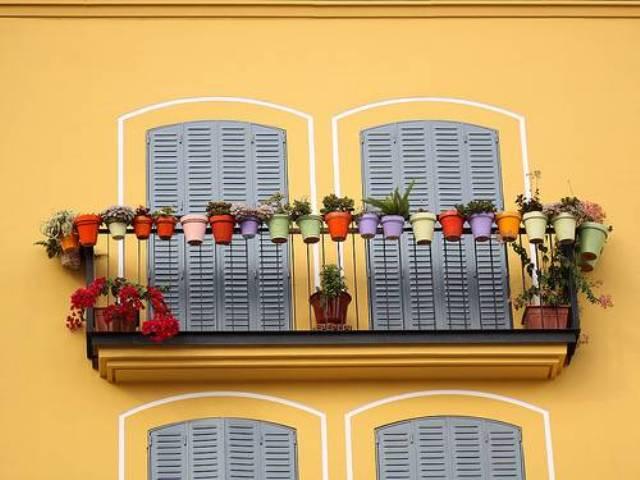 jardinagem em varanda