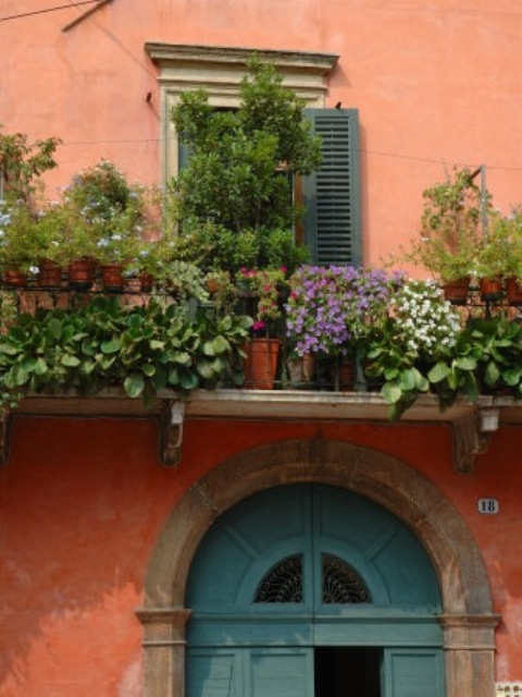 balcony garden design idea