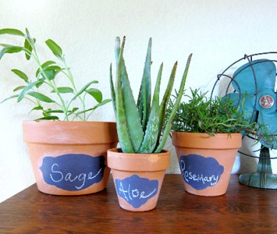 diy plant labeling