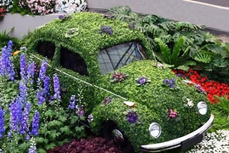 11 Examples Of Amazing Garden Art And Decor