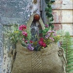 Creative DIY Gardening Idea # 9: Flower Bag