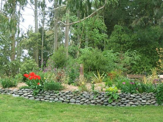 Stones Border9 Creative Ideas for DIY Garden Borders. Diy Landscaping Borders. Home Design Ideas