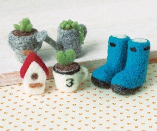 Felt Wool Gardening Set