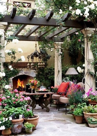 Beautiful Patio Garden