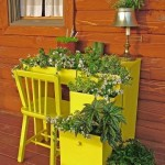 Creative DIY Gardening Idea # 26: Desk Garden