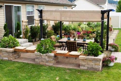 9 Examples Of Beautiful Patio Gardens