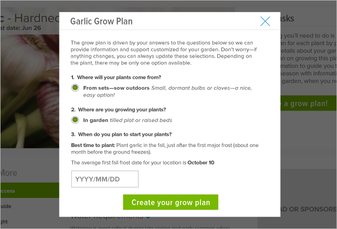 Sprout It Grow Plan
