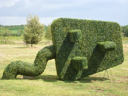 Steve Manning topiary